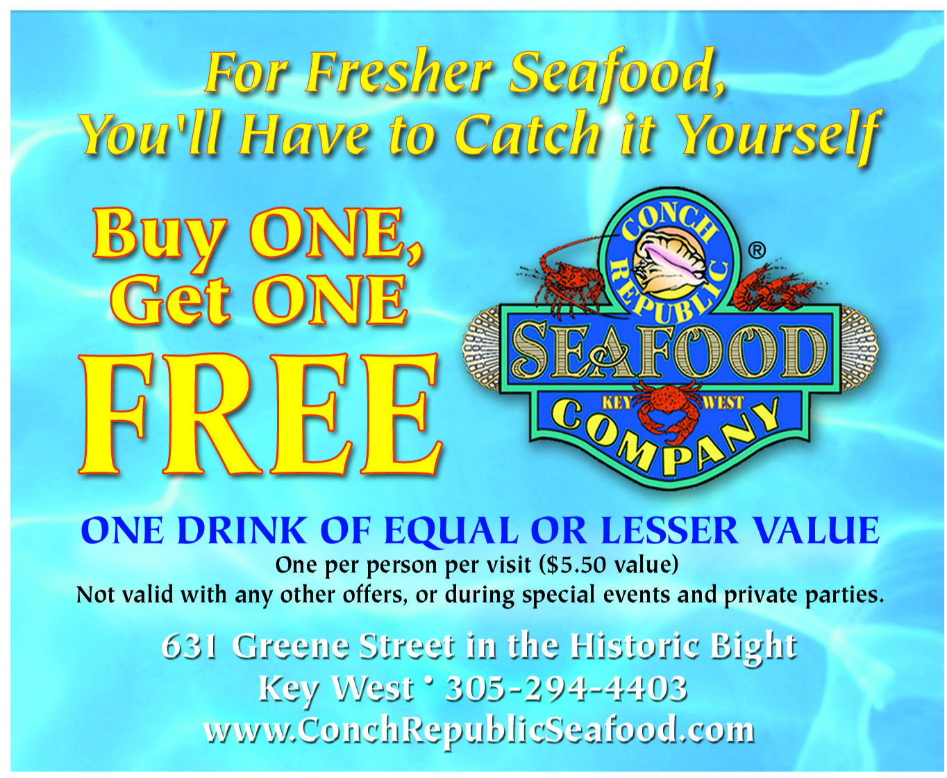 Key west dining coupons