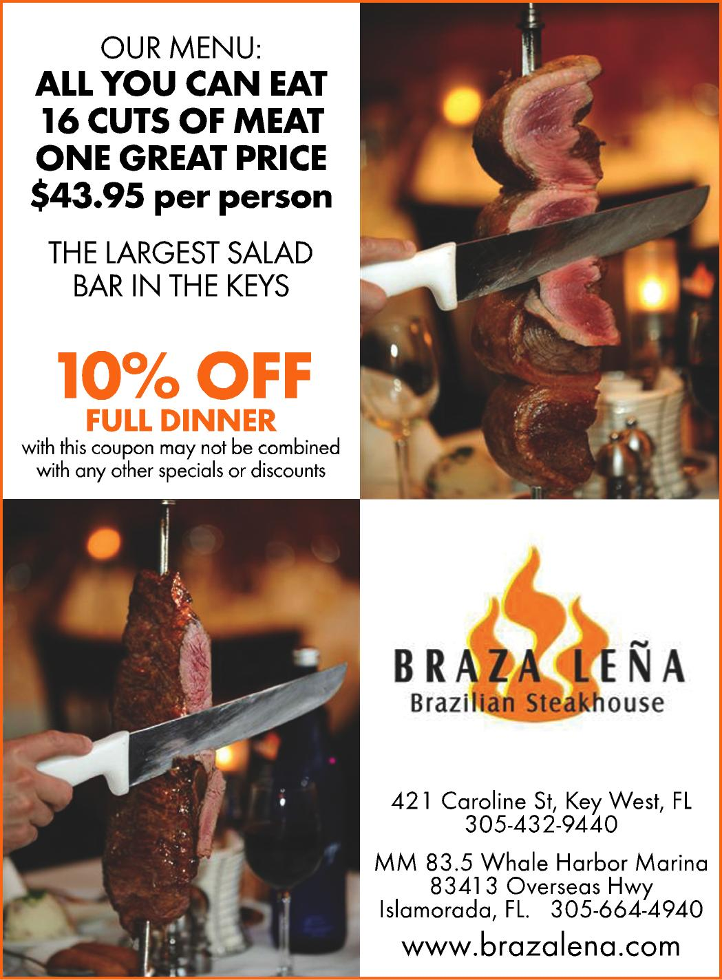 Restaurant coupons key west florida