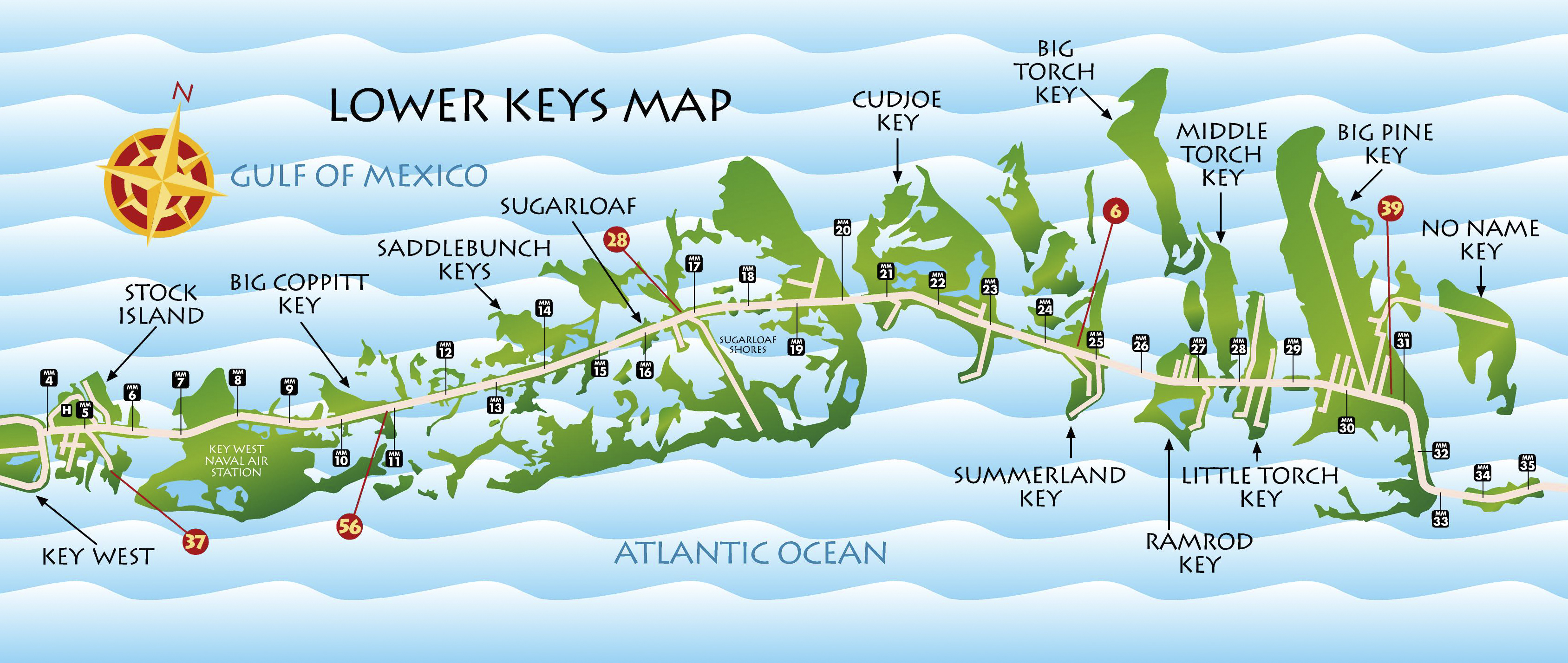 Map Florida Keys.Fl Keys Maps Key West Florida Keys Discount Coupons