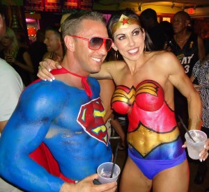 Fantasy Fest 2013 – Super Heros, Villains and Beyond